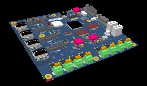 Multi-Axis Brushless motor controller